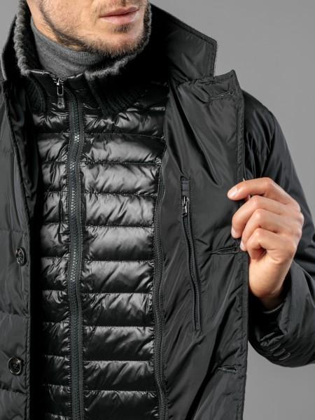 MWJ1019 Пуховая куртка-блейзер со съемной подстежкой