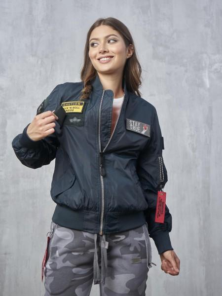 SCW1511/NV Куртка - Бомбер со сменными шевронами