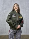 SCW1511/FN Куртка - Бомбер со сменными шевронами